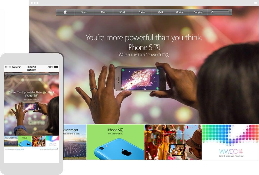 IPhone 5s Marketing
