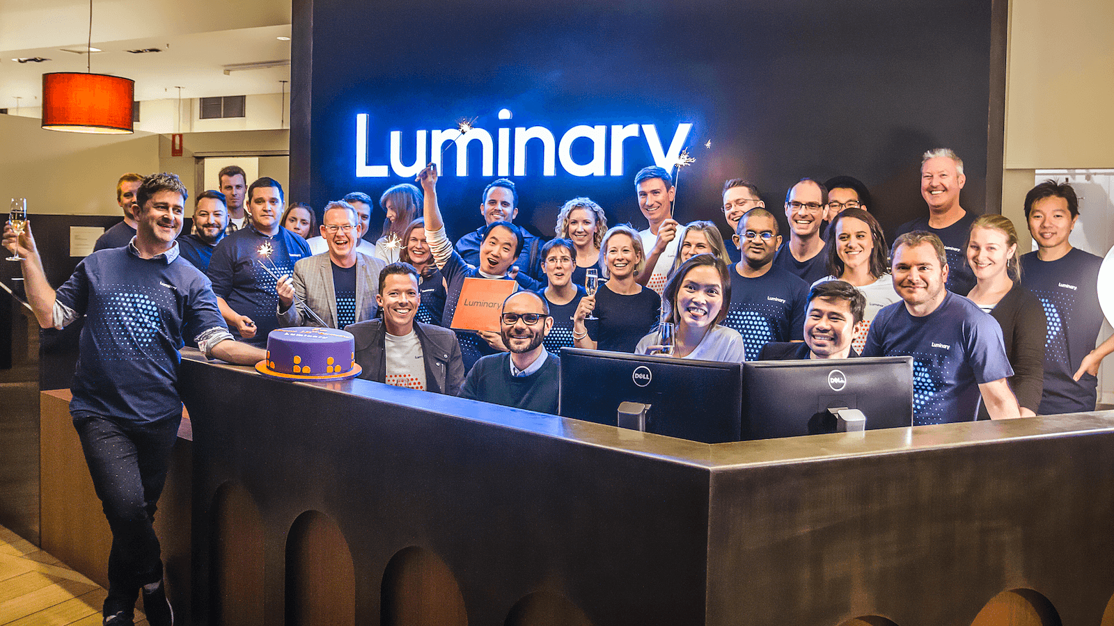 Luminary team photo