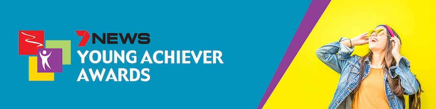 Young Achiever Awards banner