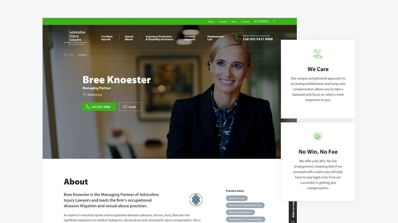 Adviceline Injury Lawyers profile page