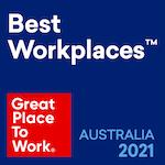 Best Workplaces 2021 logo