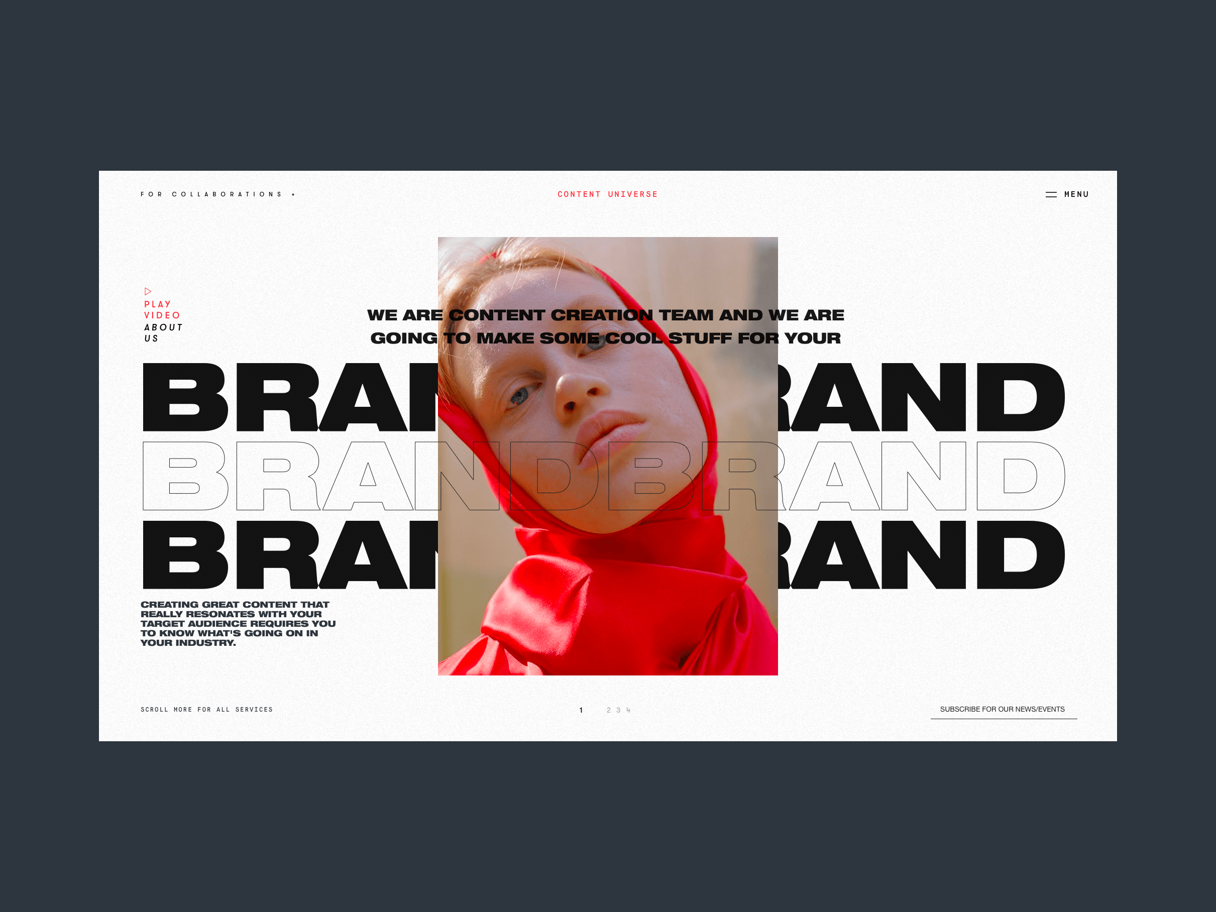 Content Universe promo page