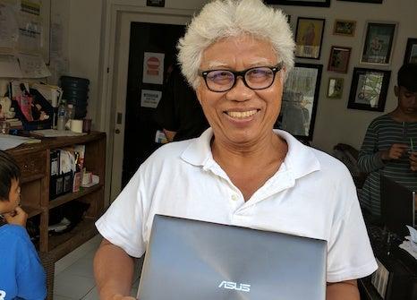 Recieving A Laptop