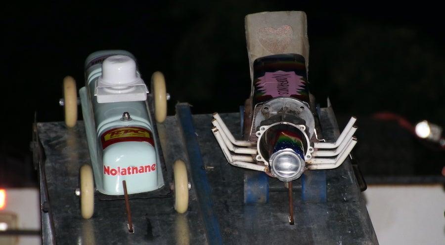 Rocket Cover Races
