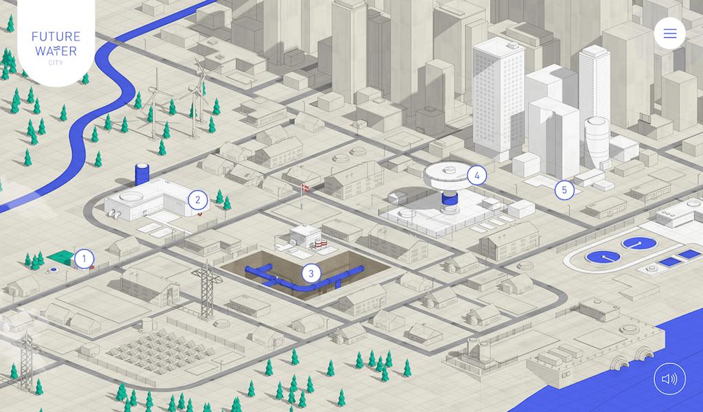 Future Water City screen grab