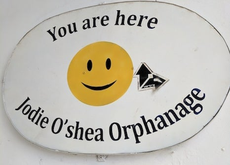 Orphanage Sign