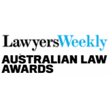 Lawyers Weekly Australian Law Awards logo